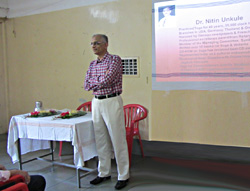 Lecture by Dr. Nitin Unkule - 'Yoga and Health'
